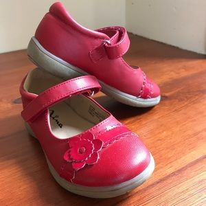 Nina Red Mary Janes Size 8M